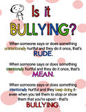 IS IT BULLYING?