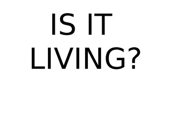 IS IT LIVING POSTERS