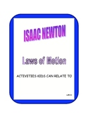 ISAAC NEWTON LAWS OF MOTION