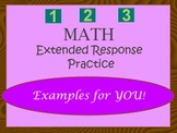 ISAT Math Extended Response Practice