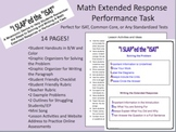 ISAT / Standardized Test--MATH & PERFORMANCE TASK EXTENDED RESPONSE Unit