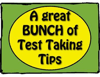 ISAT Test Taking Tips