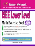 ISEE Lower Level Math Exercise Book: Student Workbook