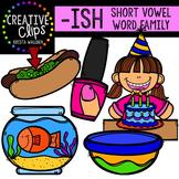 ISH Short I Word Family {Creative Clips Digital Clipart}