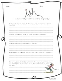 ISH by Peter H. Reynolds Comprehension Questions FREEBIE!