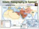 ISLAM (PART 2: GEOGRAPHY & SPREAD) visual, textual, engagi