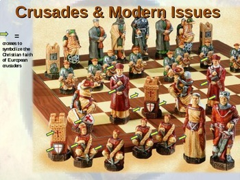 ISLAM (PART 4: CRUSADES & MODERN ISSUES) visual, textual, engaging 90-slide PPT