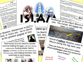 ISLAM: Four lessons
