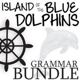 THE ISLAND OF THE BLUE DOLPHINS Grammar Bundle Commas Conj