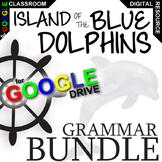 ISLAND OF THE BLUE DOLPHINS Grammar Commas Conj (Digital Distance Learning)
