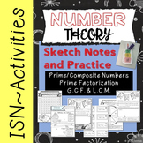 Prime and Composite Numbers, Prime Factorization and GCF / LCM!