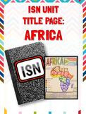 ISN Unit Title Page: Africa