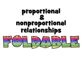 ISN foldable & PowerPoint instruct: PROPORTIONAL & NONPROP