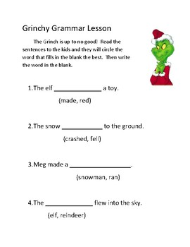 ISS or Sub Packet: Winter Themed 1st/ 2nd Grade (NO PREP)