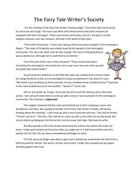 ISS or Sub Work Packet: Fairy Tale Themed Activities for All Subjects All Day