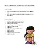 ISS or Sub Work Packet Spring Themed (No Prep) 2nd/3rd grade
