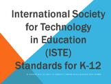 ISTE Standards 2007-2008 SWBAT Learning Goals Posters Grades K-12: Technology Ed