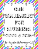 2007 & 2016 ISTE Standards for Students (ISTE NETS)