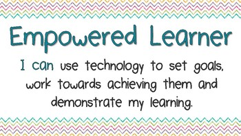 I can....ISTE Student Standards