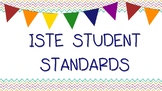 ISTE Student Standards - I can statements