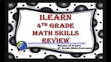 ILearn Math Review 4th Grade (Editable)