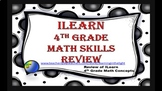 ISTEP Math Review 4th Grade (Editable)