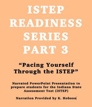 ISTEP Readiness Series Part 3 Pacing Yourself on the ISTEP