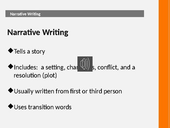 ISTEP Readiness Series Part 5 Types of Writing Strategies