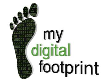 IT/Computer Class: Digital Footprint Poster Activity Project Based Learning
