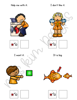 IT Core Vocabulary Unit for Teachers of Students with Autism & Special Needs