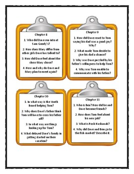 IT'S LIKE THIS, CAT by Emily Neville * Discussion Cards
