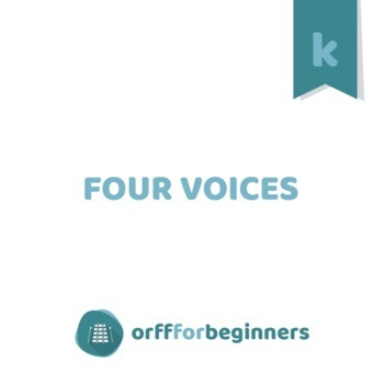 FREE IT'S MUSIC TIME! Unit One: 4 Voices