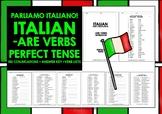 ITALIAN CONJUGATION DRILLS -ARE VERBS PERFECT TENSE PASSATO PROSSIMO