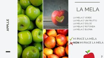 ITALIAN FRUIT - BEGINNERS / CHILDREN