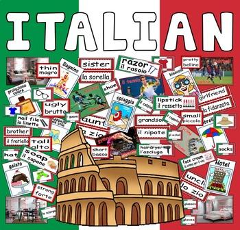ITALIAN LANGUAGE - TEACHING RESOURCES AND DISPLAY