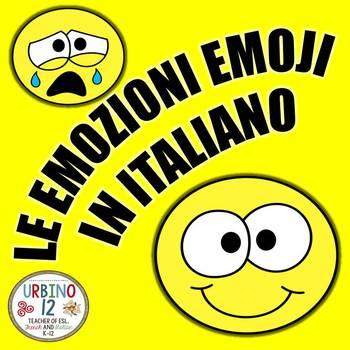 ITALIAN: LE EMOZIONI EMOJI