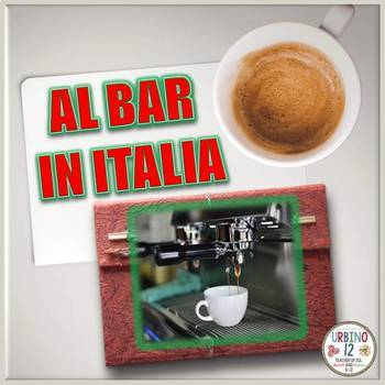 ITALIAN CHANT: AL BAR IN ITALIA