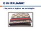 ITALIAN: IL PASSATO PROSSIMO (INTRODUCTION)