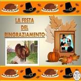 ITALIAN: La Festa del Ringraziamento