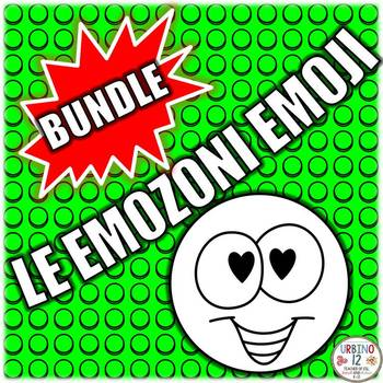 ITALIAN: Le Emozioni Emoji  BUNDLE