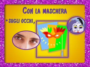 ITALIAN POEM: CARNEVALE
