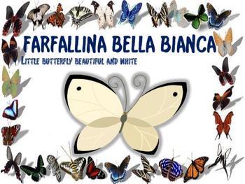 ITALIAN POEM: FARFALLINA