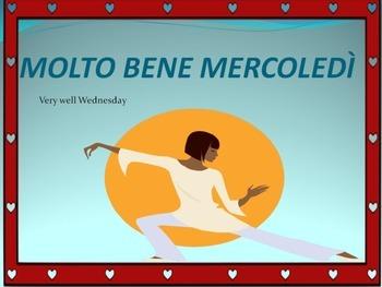 Italian Poem: I Giorni della Settimana