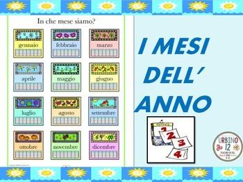 Italian Poem: I Mesi Dell' Anno