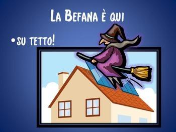 ITALIAN POEM: LA BEFANA