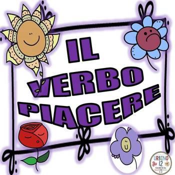 Piacere -il verbo