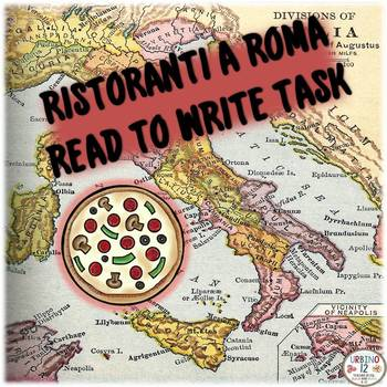 ITALIAN: Read to Write Task Ristorante Level I