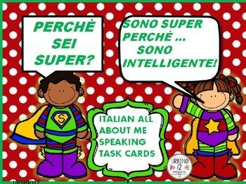 ITALIAN TASK CARDS : SONO SUPER...