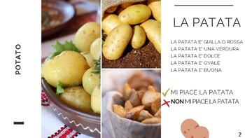 ITALIAN VEGETABLES - BEGINNERS/CHILDREN