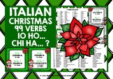 CHRISTMAS: ITALIAN VERBS CHRISTMAS I HAVE WHO HAS?